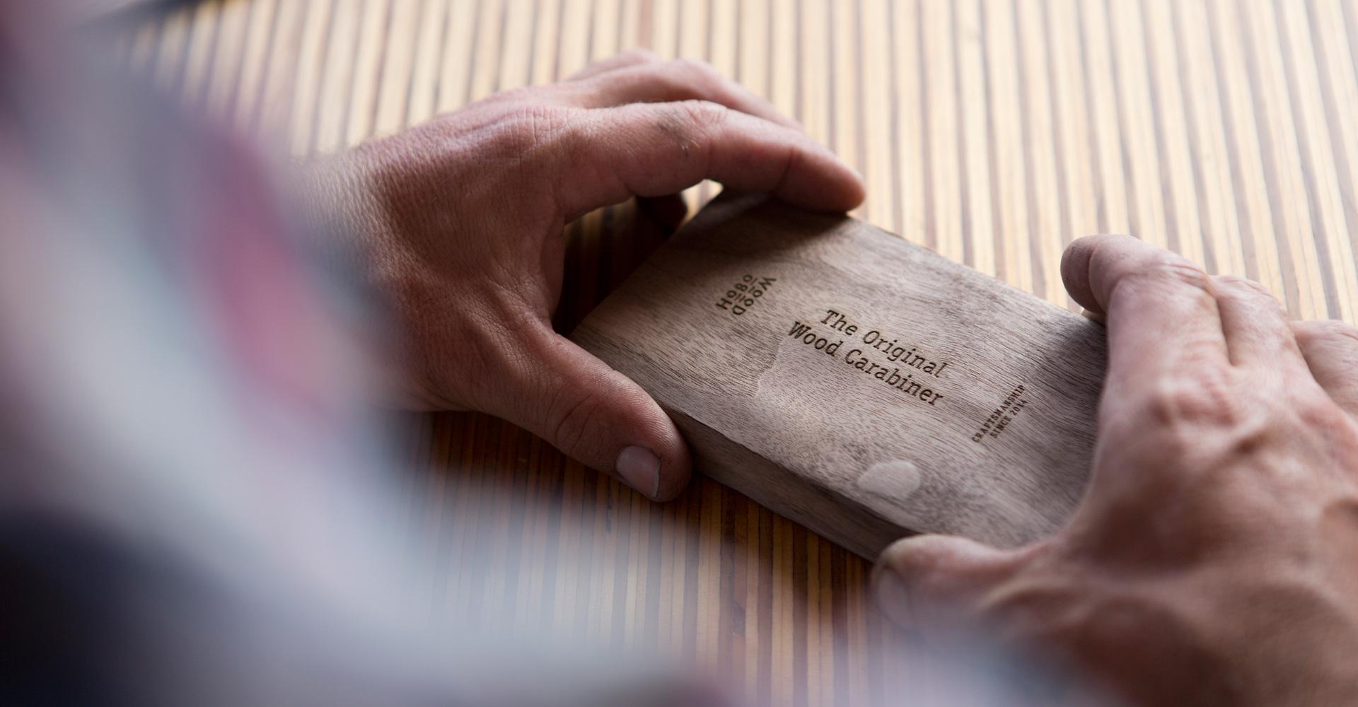Original Wood Carabiner - Hobowood